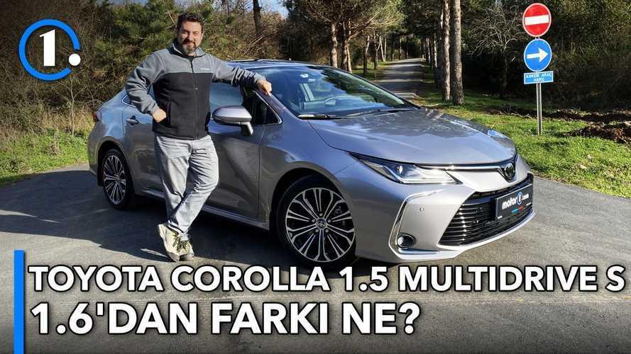 Toyota Corolla 1.5 Multidrive S | 1.6'dan Farkı Ne? | Neleri Farklı?