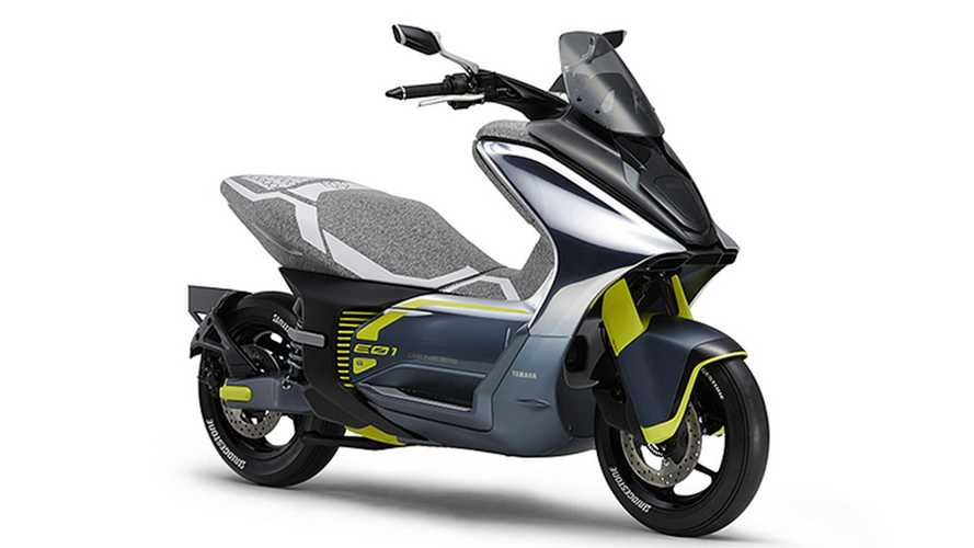 Yamaha Trademarks E01 Nameplate For Upcoming E-Scooter