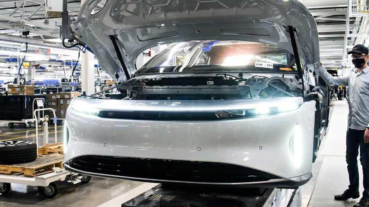Inside Lucid Motors' EV factory in Casa Grande, Arizona (source: CNBC)