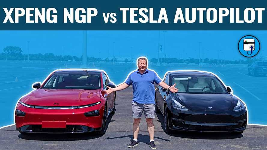 Tesla's Autopilot Compared To Xpeng's Navigation Guided Pilot
