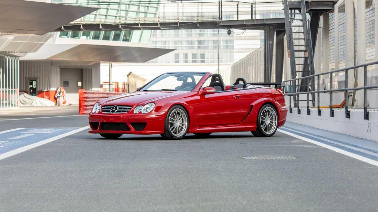 Rare Mercedes CLK DTM AMG Cabriolet Heads To Auction