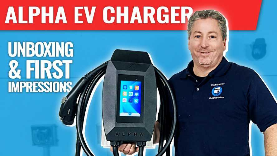 Alpha EV Charger Beta Test: Unboxing, Installation, And First Impressions