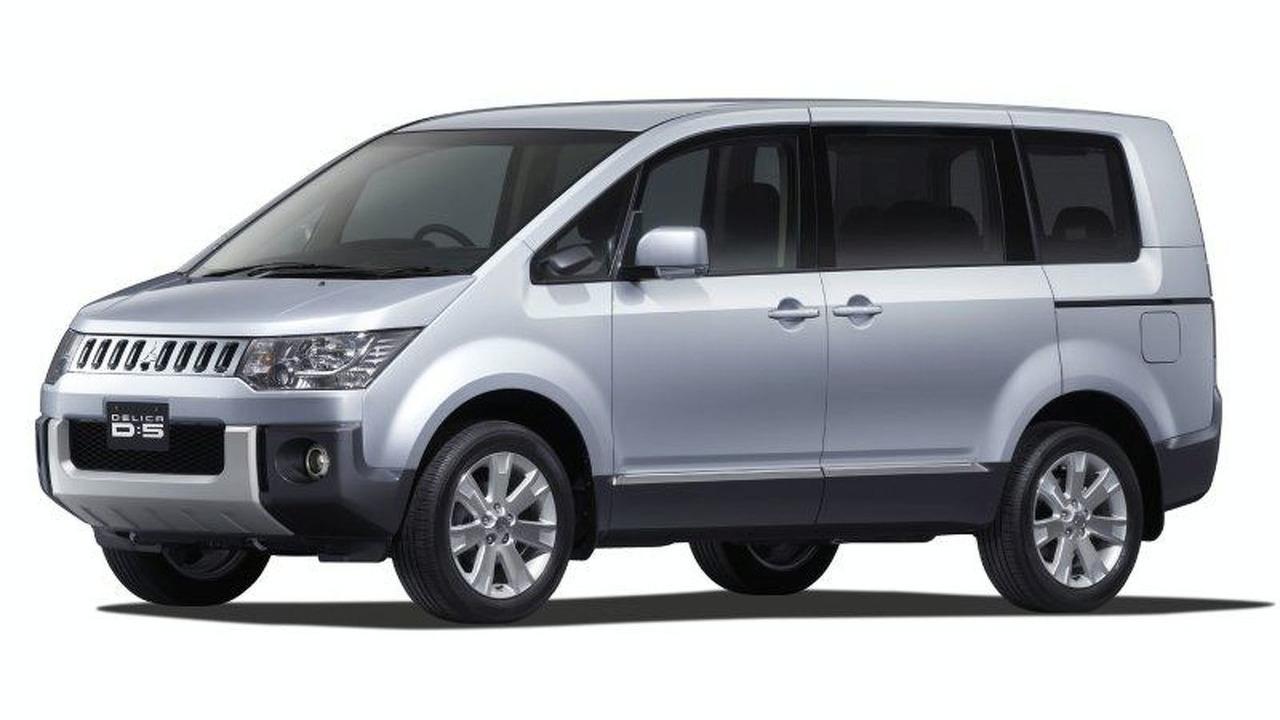 New Mitsubishi Delica D:5 Minivan