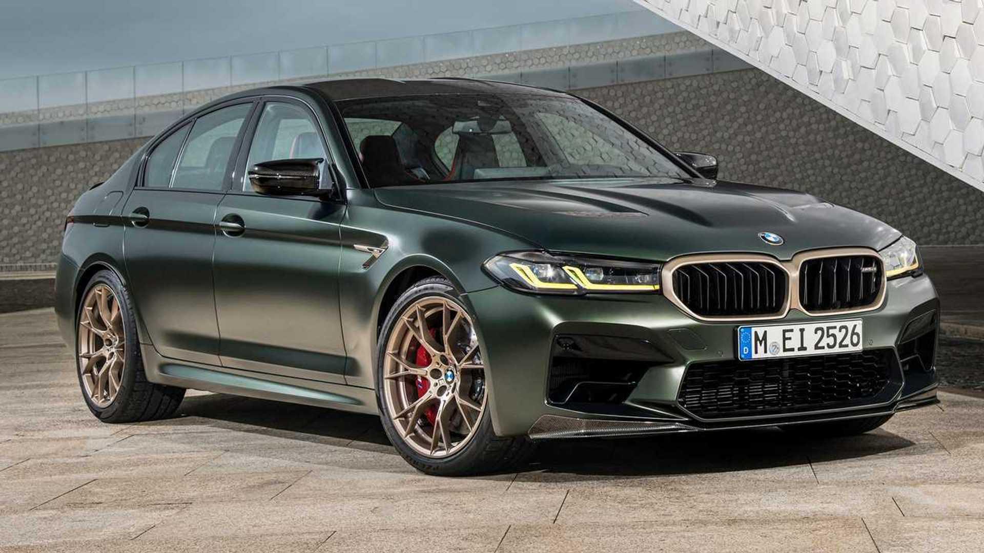 BMW M5 CS 2022 года хвастается углеродным волокном, разгоняется до 0-60 менее чем за 3 секунды