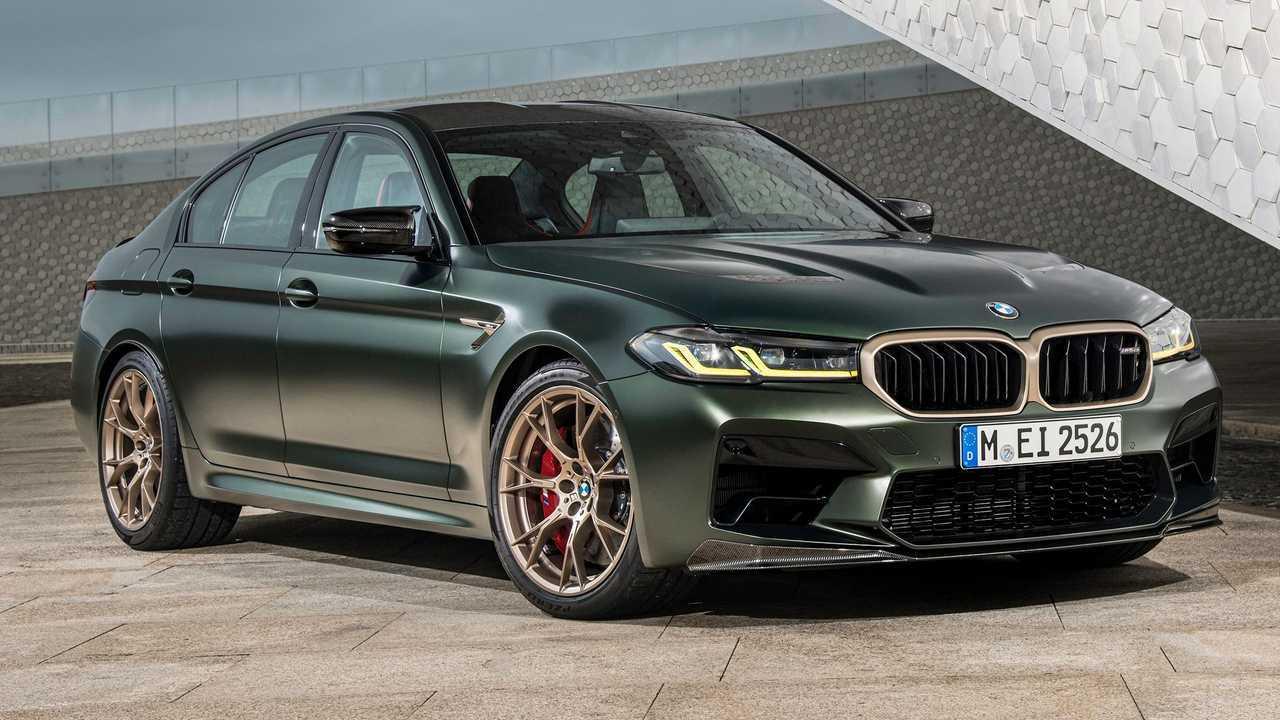 2022 BMW M5 CS Front View