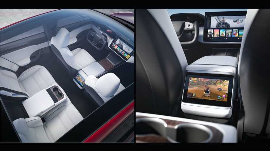 Refreshed Tesla Model S video reveals new touch screens, more