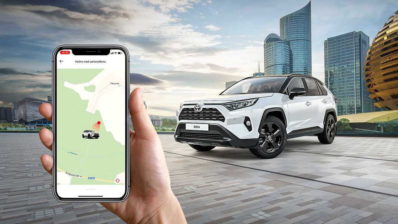 Toyota RAV4 Style с Connected Services