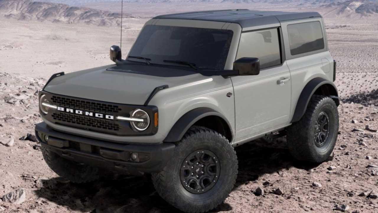 Ford Bronco Cactus Gray Configurator New
