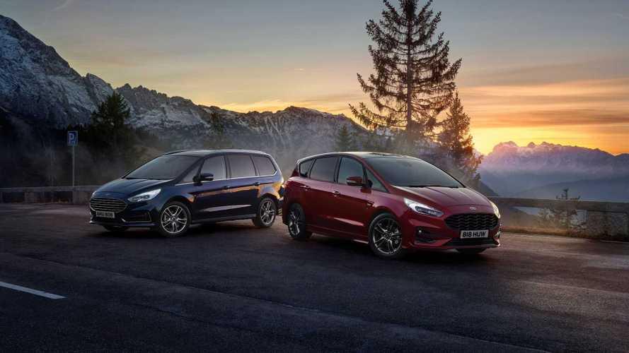Ford S-Max e Galaxy Hybrid, le ibride a 7 posti