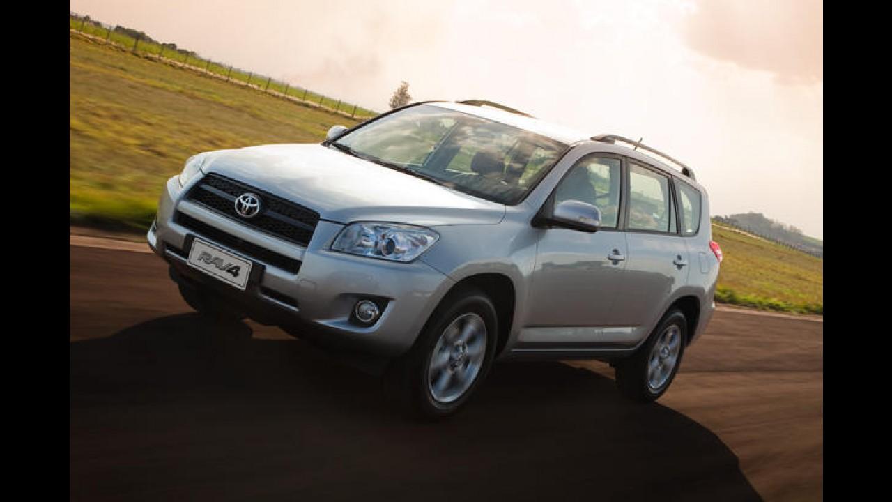 Toyota anuncia recall global para 2,9 milhões de RAV4; Brasil aguarda