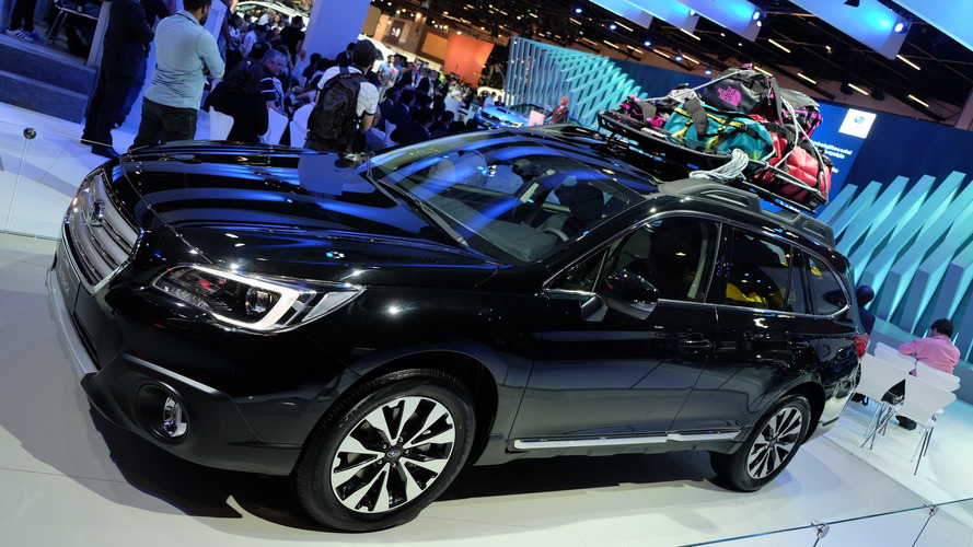 Salão do Automóvel: Subaru Outback fica mais equipado e seguro