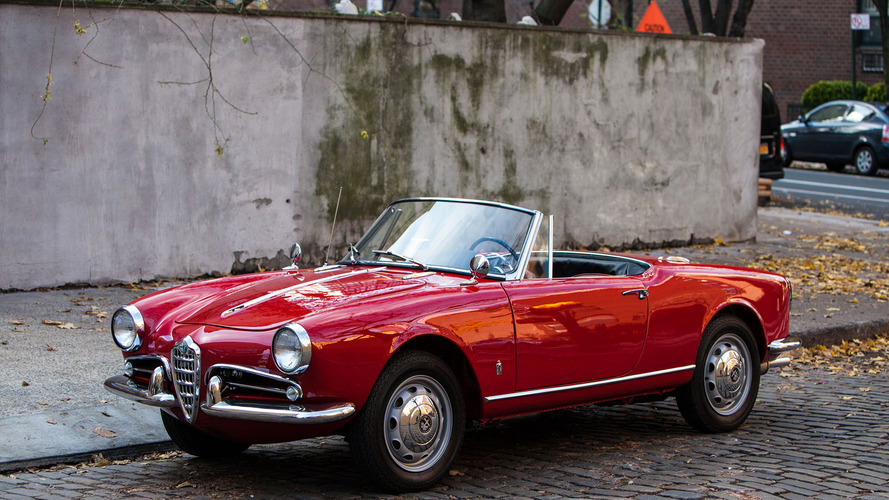1962 Alfa Romeo Giulietta satışa sunuldu