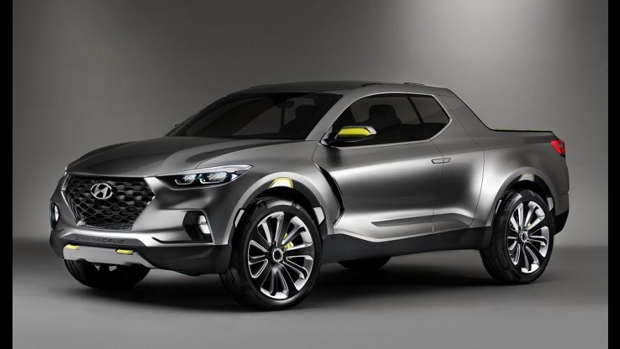 """Hyundai diz que picape Santa Cruz tem potencial para vender """"como CR-V e RAV4"""""""