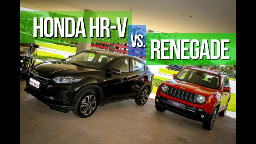 Vendas abril SUVs: HR-V lidera com folga e Renegade aparece no Top 10