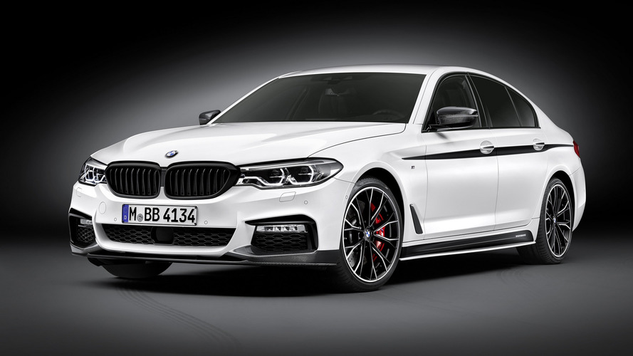 BMW spices up new 5 Series with M Performance goodies