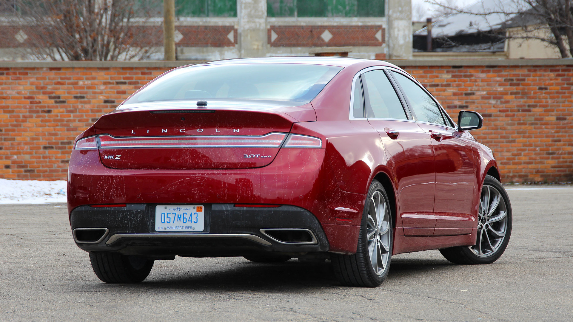 2021 Spy Shots Lincoln Mkz Sedan Photos