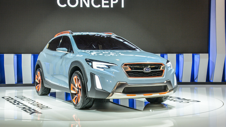 Sporty Rugged Subaru Crosstrek Concept Debuts In North America