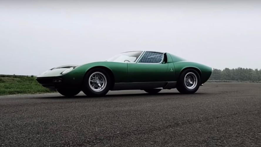 VIDEO - La première Lamborghini Miura SV restaurée