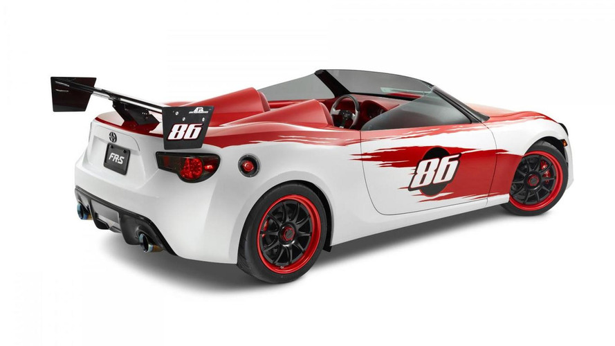Scion FR-S Speedster by Cartel Customs revealed in California