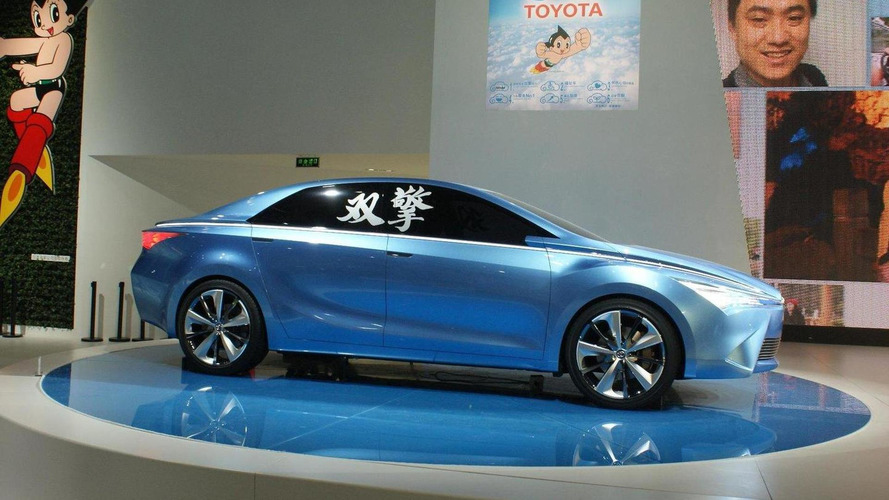 Toyota Yundong Shuangqing hybrid concept revealed for China-only