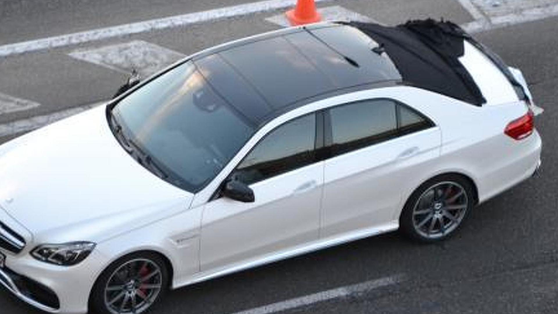 2014 Mercedes Benz E63 Amg Confirmed With 550 Hp And Awd