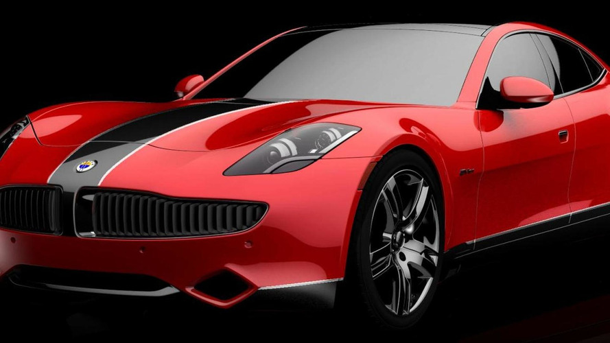 Fisker Karma gets colorful for SEMA