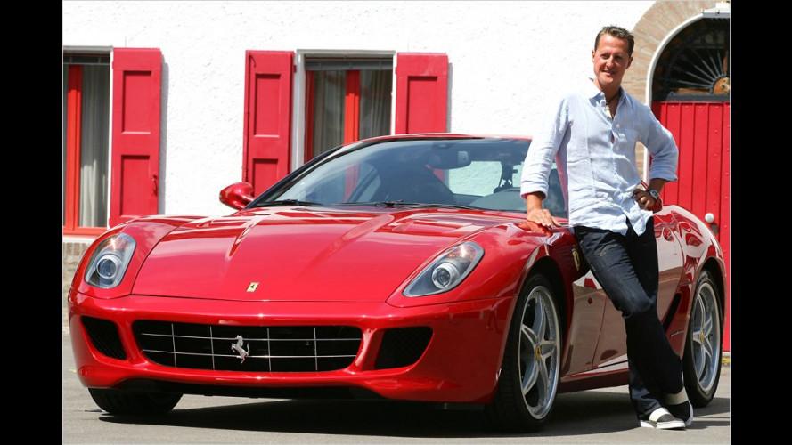 Michael Schumacher wird zum Tor-Mann