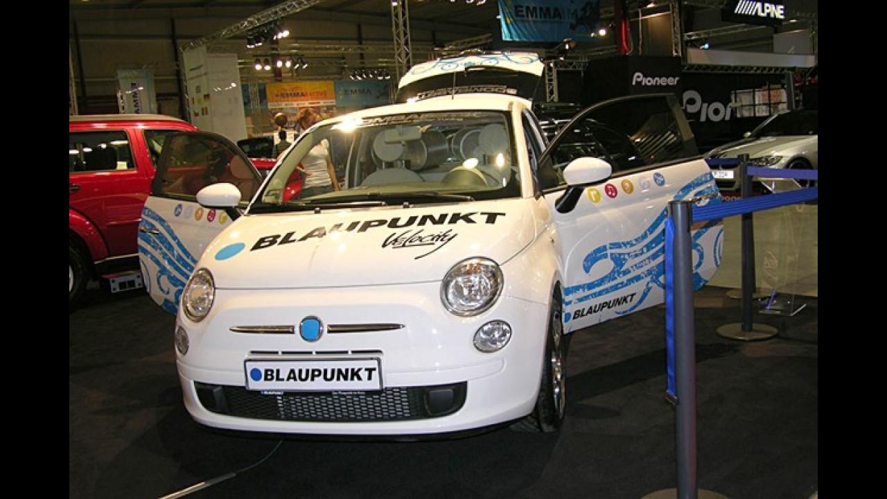 Auch bei Audio-Tunern beliebt: Der neue Fiat 500