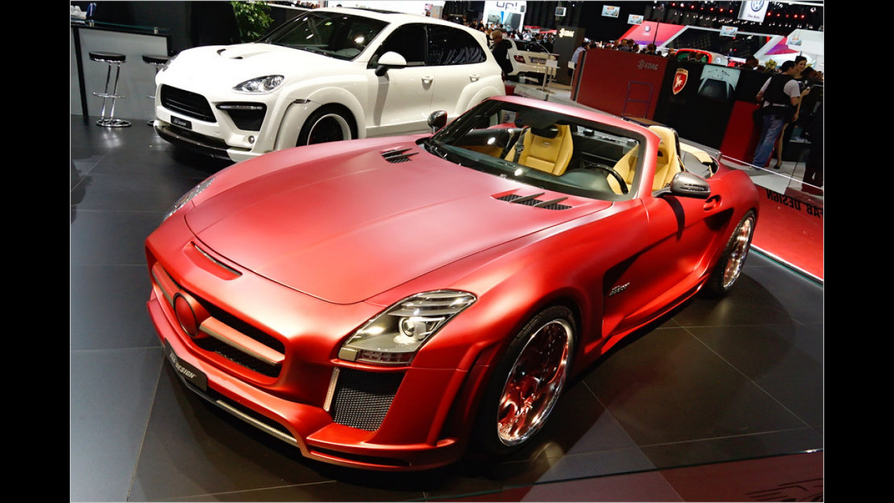 FAB Design Mercedes SLS AMG Roadster