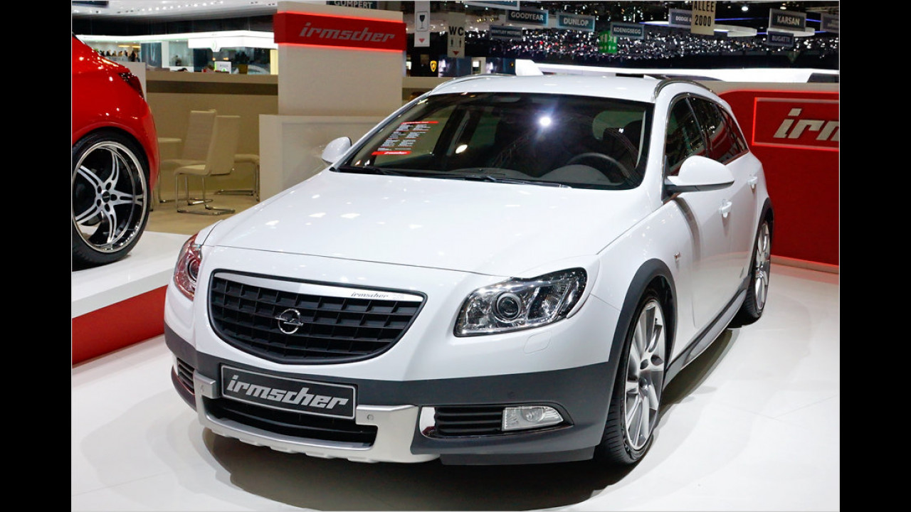 Irmscher Opel Insignia ST Cross4 Look Studie