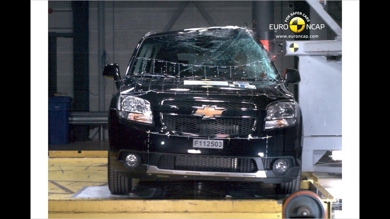 Chevrolet Orlando 1.8, fünf Sterne