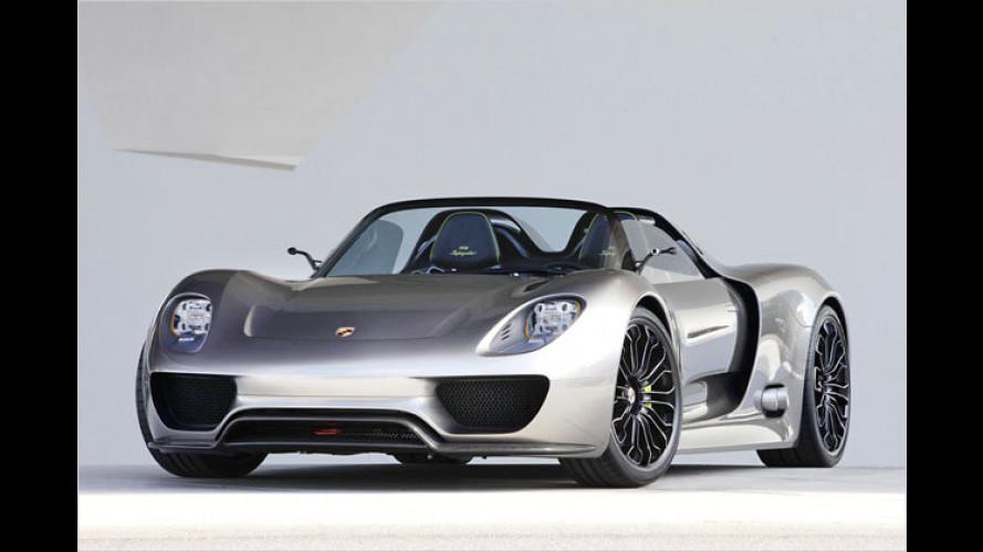 Porsche 918 Spyder ist ab sofort bestellbar