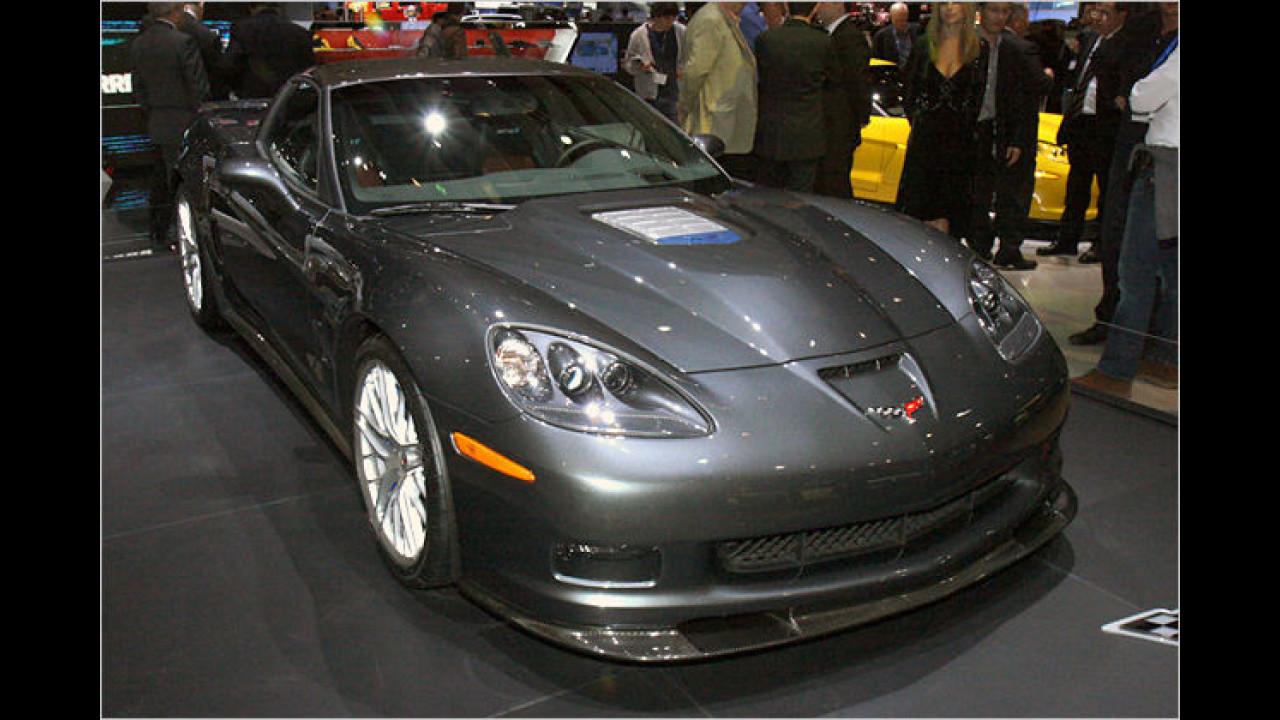 Corvette ZR1: Die Über-Vette hat eine Leistung von 620 PS