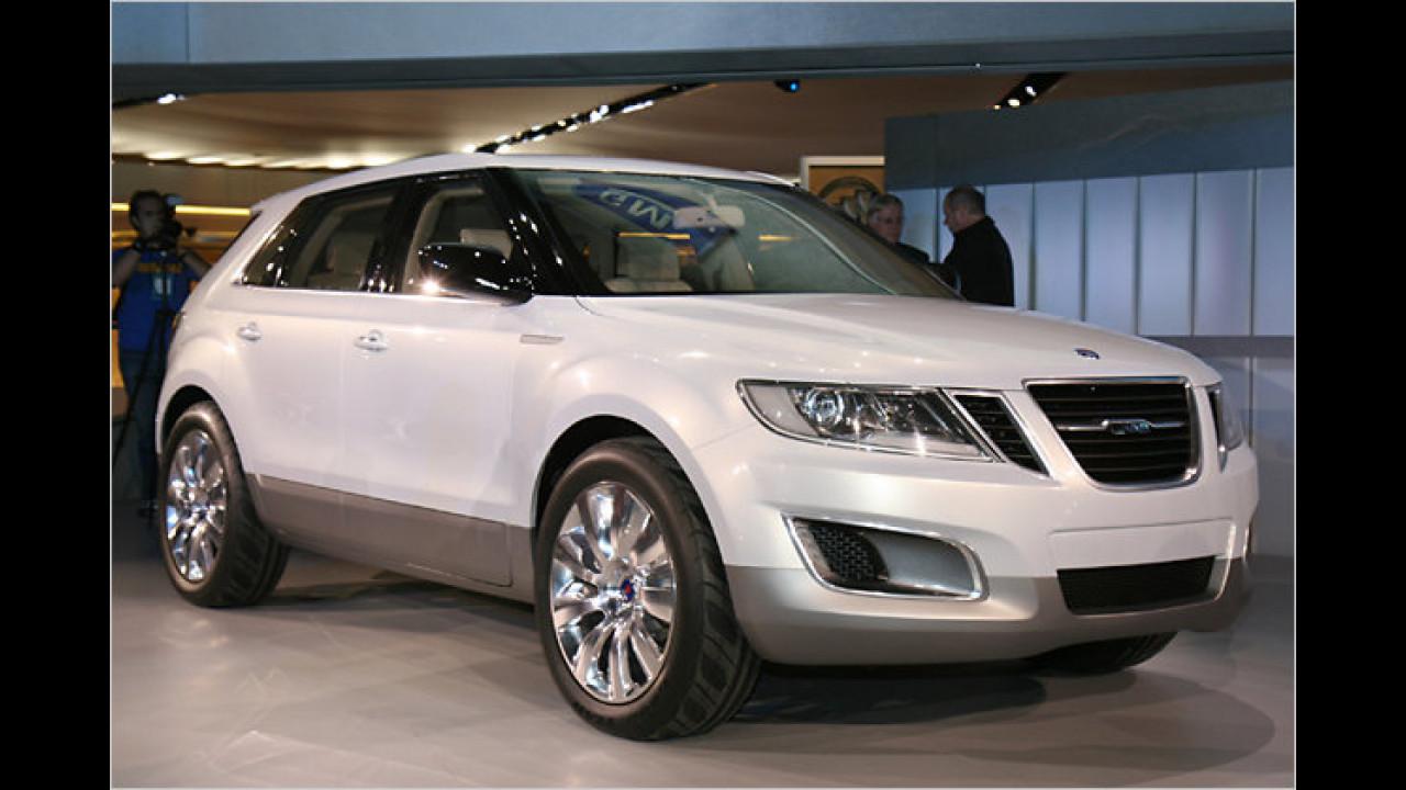Saab 9-4X BioPower Concept: Das erste in Eigenregie entwickelte SUV der Schweden läuft mit Superbenzin oder E85 Bioethanol