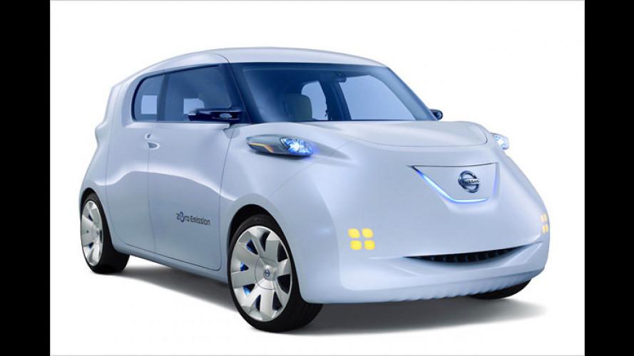 Nissan Townpod: So praktisch wie ein weißes T-Shirt