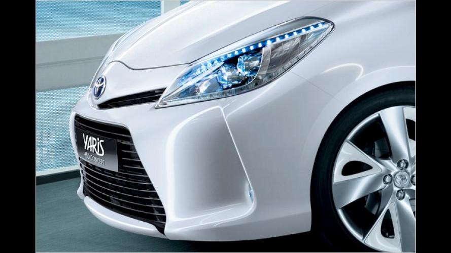 Yaris Hybrid und Prius-Van: Neue Hybridmodelle von Toyota