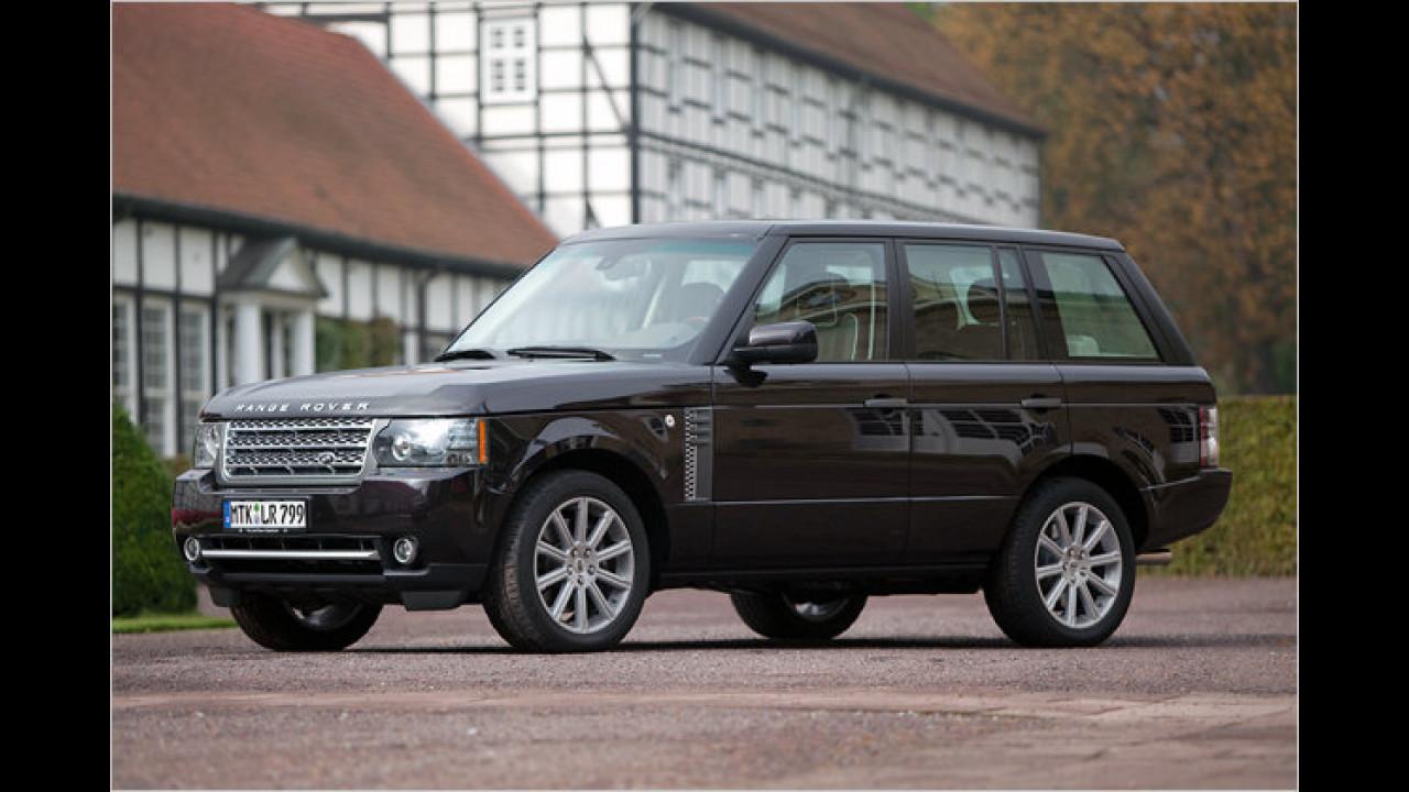 Land Rover: Die häufigste Farbe ist Schwarz