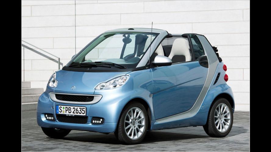 Smart macht den Stadtflitzer Fortwo fit für 2011