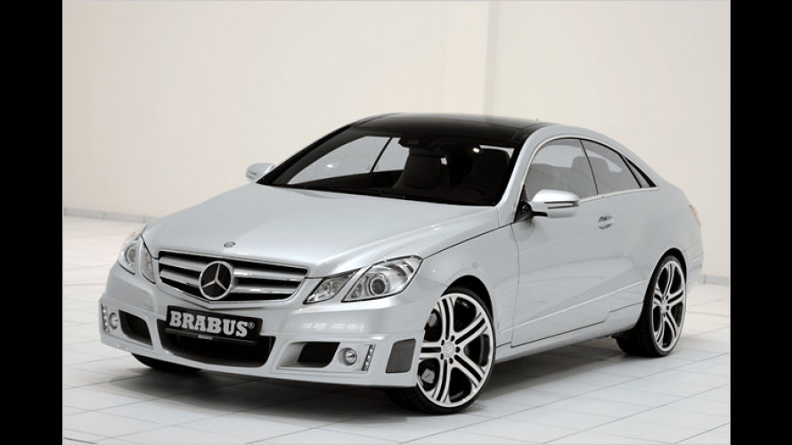 Brabus veredelt das neue Mercedes E-Klasse Coupé