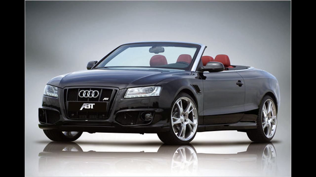Audi Cabrio vom Abt