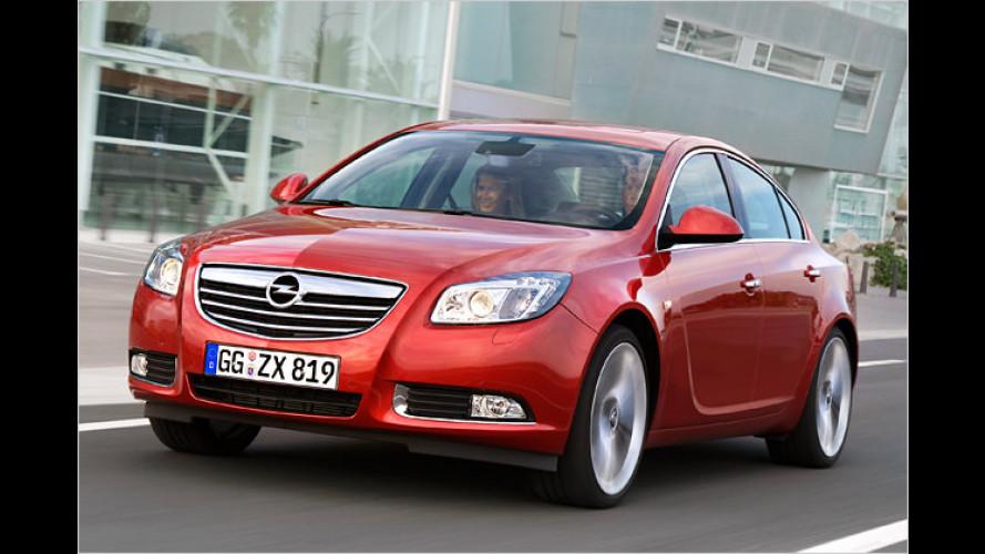 Opel: Elektronischer Parkassistent für den Insignia