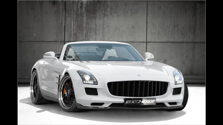 Optik, Sound, Power: Mercedes SLS Roadster von Kicherer