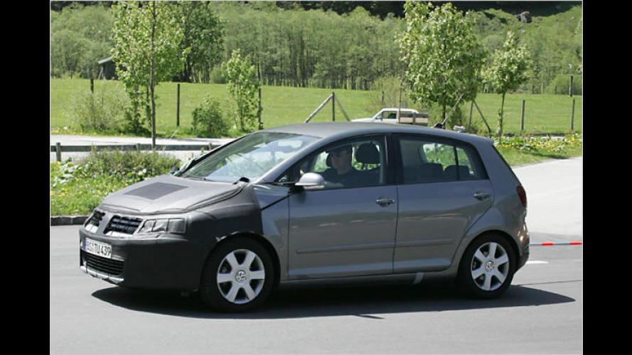 Frisch erwischt: Erlkönigbilder des neuen VW Golf Plus