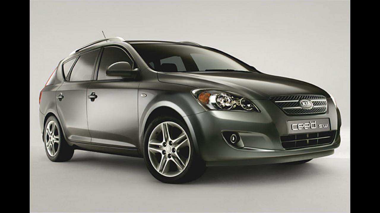 Kia cee'd Sporty Wagon 1.6 CRDi 90 EX DPF