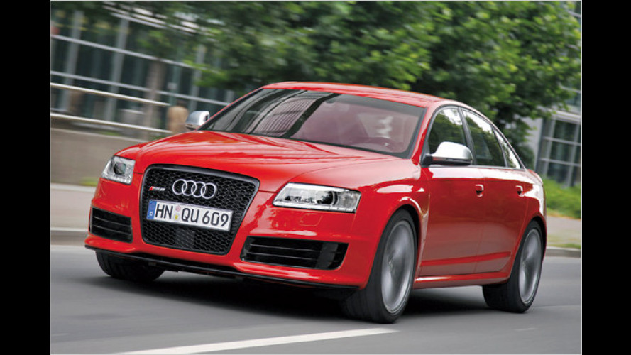 Audi RS6: Jetzt gibt's noch eine Schippe drauf