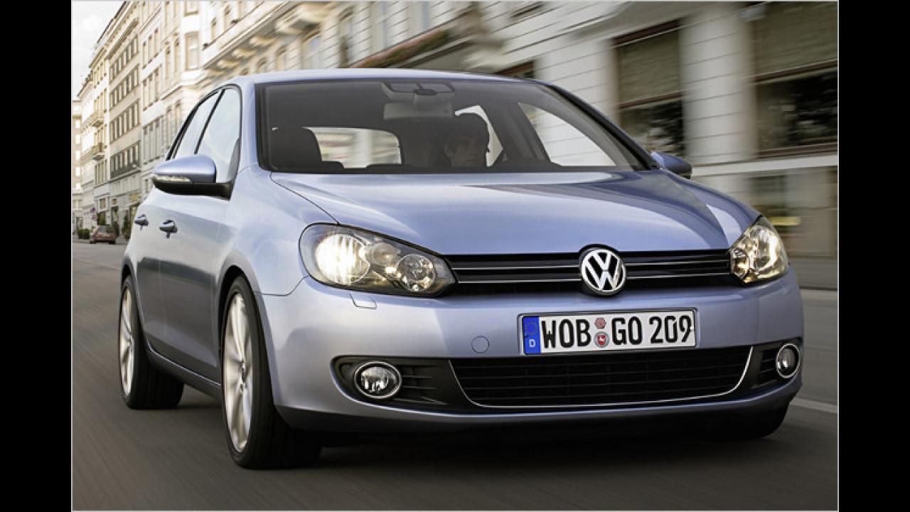 Platz 1: VW Golf, Jetta (10,5 Prozent)