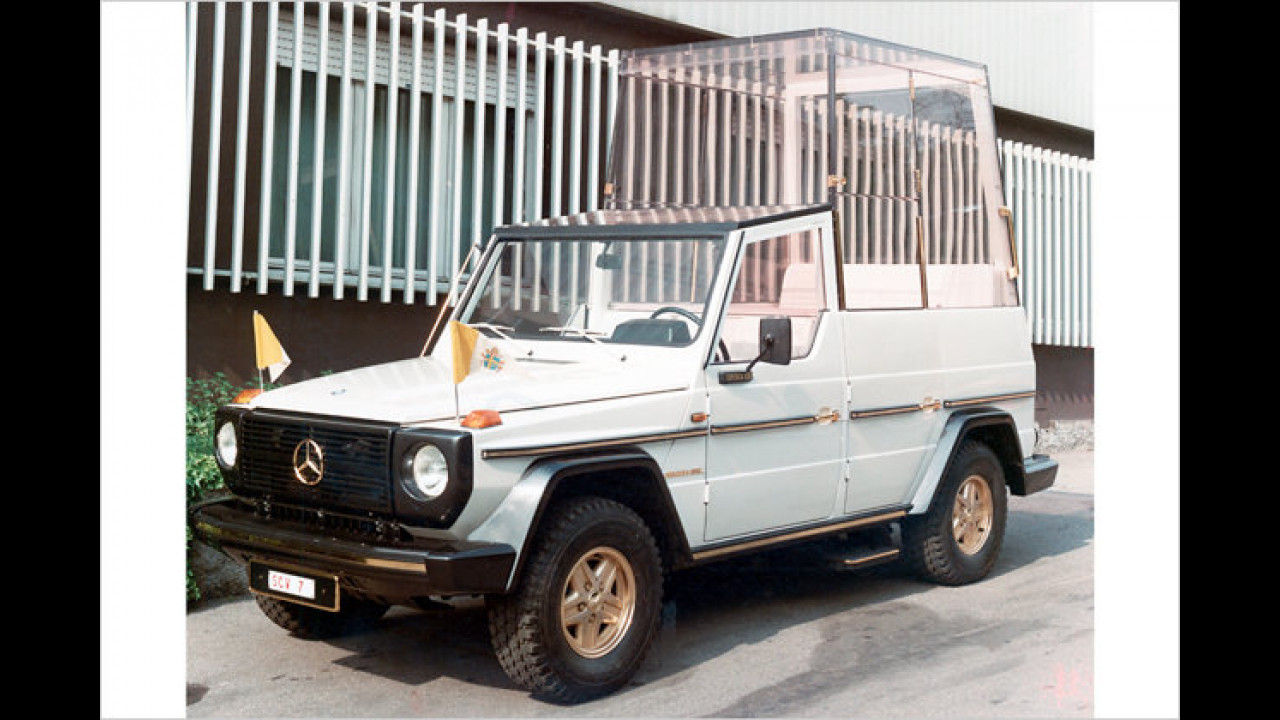 Mercedes 230 G Papamobil