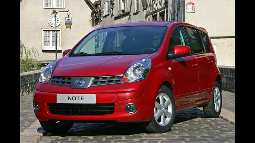 Nissan verpasst den sparsamsten Modellen ein Ökozeichen