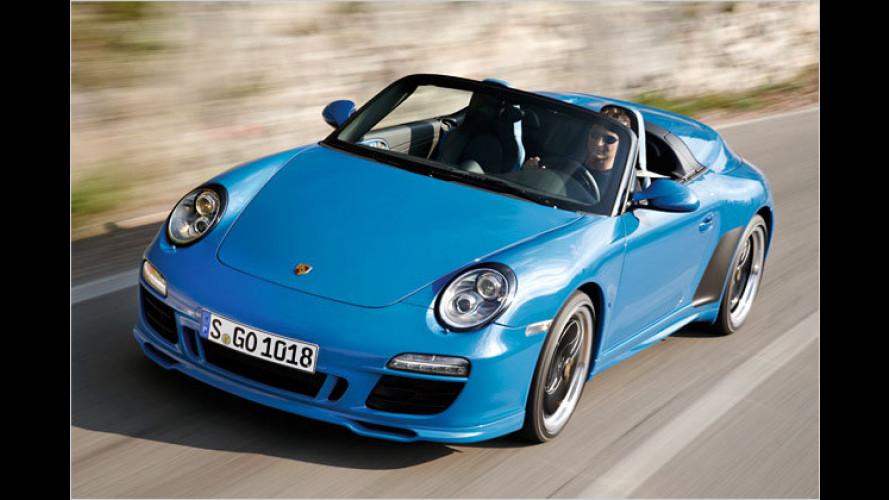 Comeback für die Doppelhutze: Porsche 911 Speedster