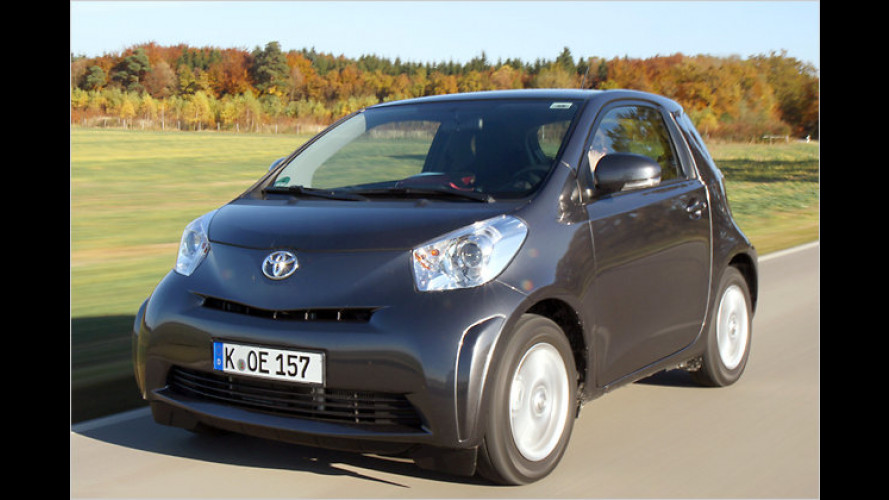 Stadt-Sparer: Toyota iQ 1.4 D-4D im Test